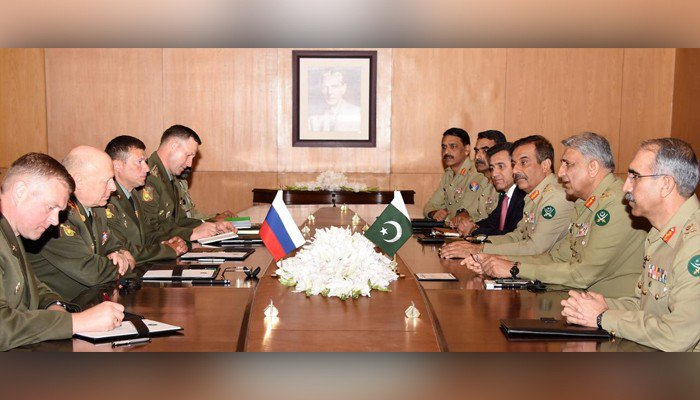 Army Chief Of Russia General Oleg Salyukov visits Pakistan and Met with General Qamar Bajwa