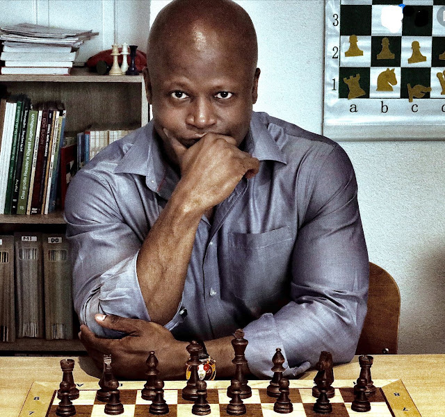 Chess Grandmaster Maurice Ashley