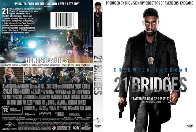 21 Bridges DVD Cover