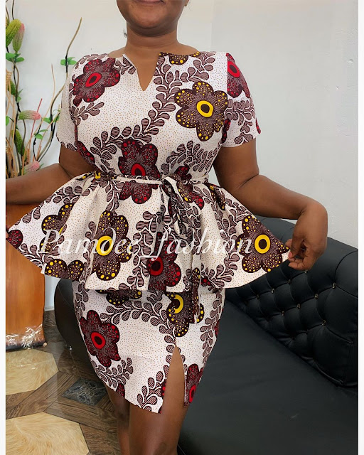2019 African Fashion: Varieties of Ankara Styles