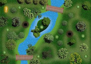 mini-golf field