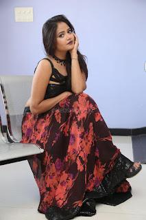 Shriya Vyas in a Tight Backless Sleeveless Crop top and Skirt 111.JPG