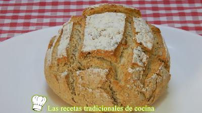 Receta rápida de pan mágico integral con semillas
