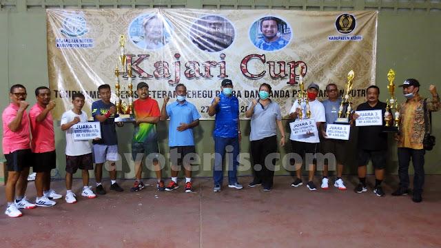 Tim Beregu Putra Tulungagung Juara Turnamen Tenis Kajari Cup I Tahun 2020