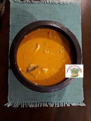 Thenga aracha fish curry