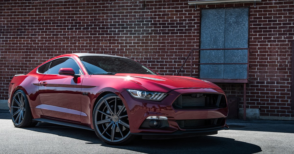 2015 Ford Mustang With 22 Inch BD-9's in Matte Graphite | BLOG