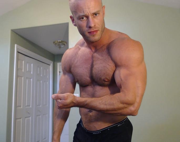 muscle hunk flex