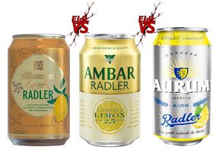 Vs. Cata comparativa de cervezas Radler