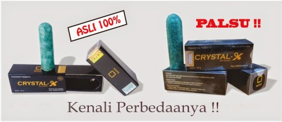 Solusi Area Kewanitaan | Natural Crystal-X
