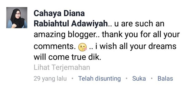 Thank you sis cahaya diana