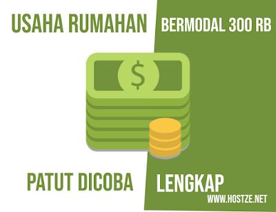 Usaha Rumahan Bermodal 300 Ribu Patut Dicoba - hostze.net