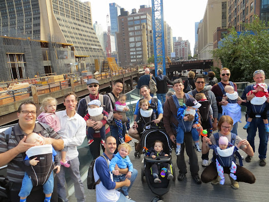 City Dads Across America Will Be Rockin' Their Baby Carriers for International Babywearing Week