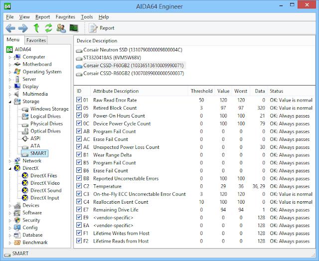 Screenshot AIDA64 Engineer 6.10.5200 Full Version