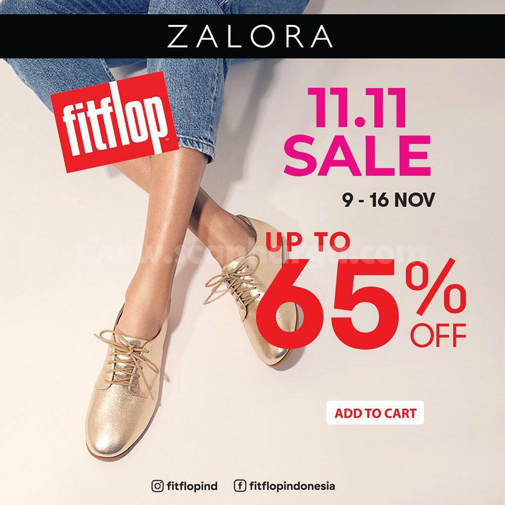 Fitflop 11.11 Sale Up to 65% off exclusife at Zalora
