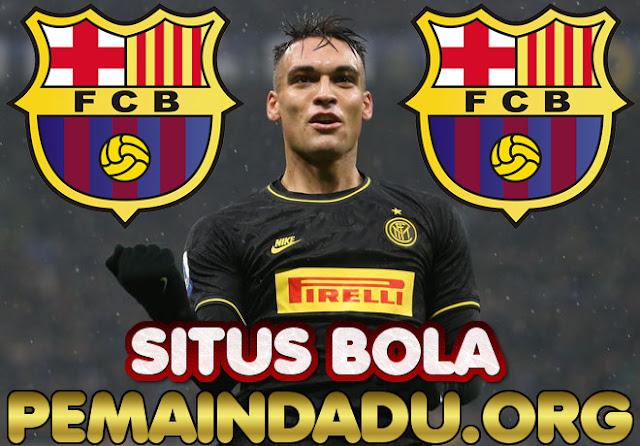 Klub Barcelona Resmi Rekrut Striker Lautaro Martinez