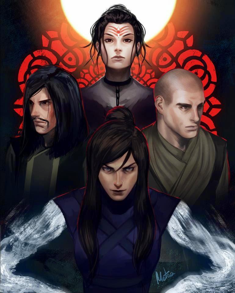 La Atalaya Nocturna: Galería de Avatar Korra de Meder Taab