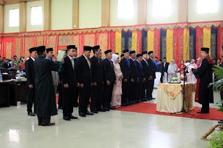 DPRD Kota Solok 2019-2024 Langsung Dihadapkan Tugas Berat