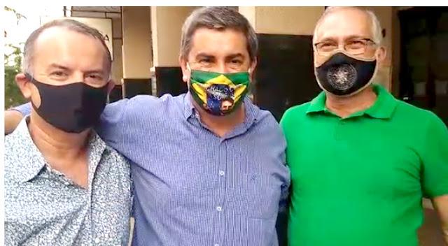 Deputado do PSL manifesta apoio para Bassan e Coronel Leandro, do PRTB