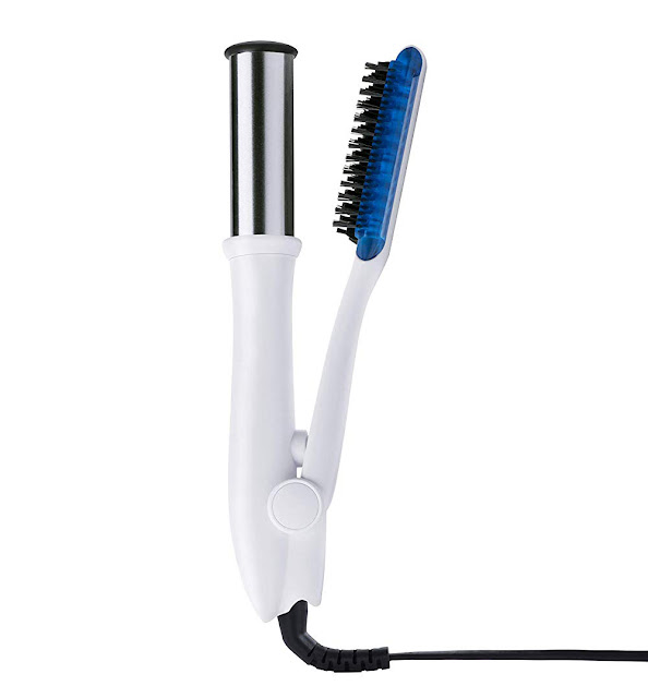 InStyler MAX PRIME WET TO DRY 1 25 2-Way Styling Iron in White