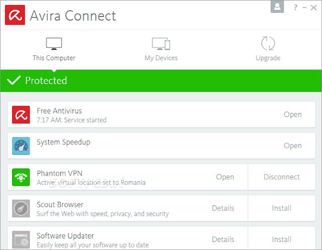 Télécharger Avira Free Antivirus