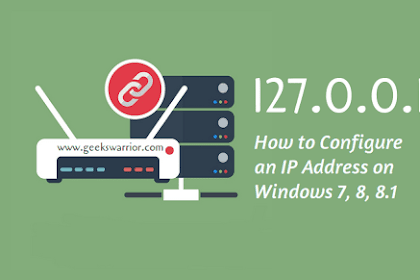 How to Configure an IP Address on Windows 7, 8, 8.1