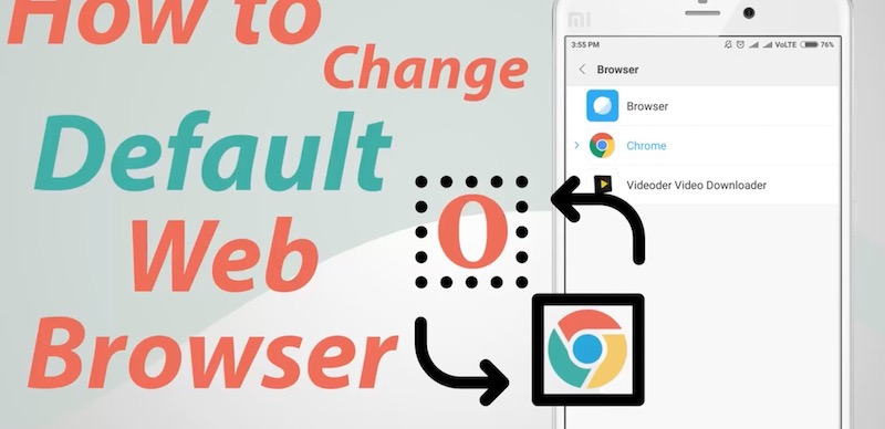 come cambiare browser predefinito su android