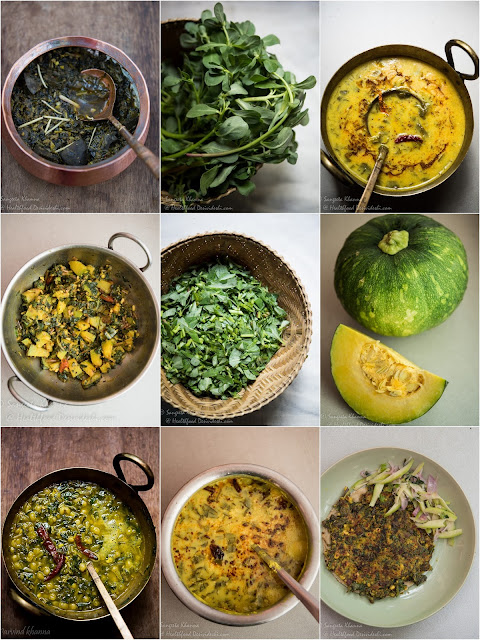 6 recipes of purslane greens