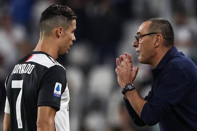 I would help Ronaldo win his sixth Balon d'or - Sarri, Ronaldo to win his sixth Balon d'Or under Sarri