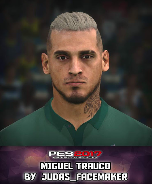 PES 17 M. Trauco Face by Judas Facemaker