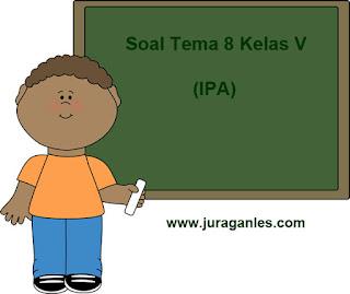 Soal Tematik Kelas 5 Tema 8 Mapel IPA dan Kunci Jawaban