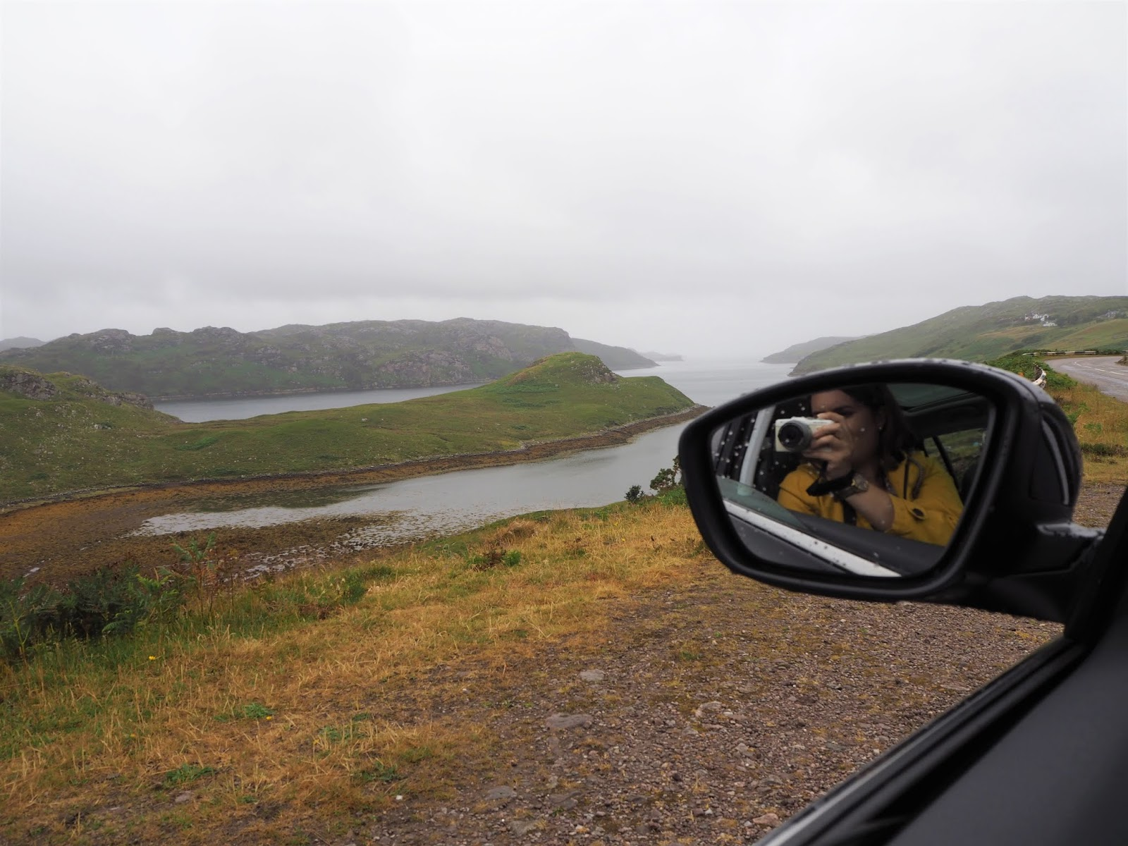 Driving the North Coast 500 in Scotland