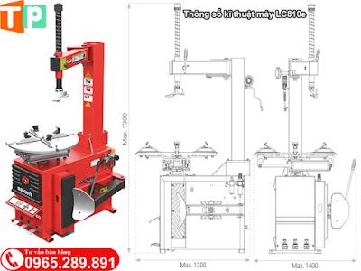 Thông số kĩ thuật máy Bright LC810e