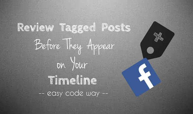 Enable Facebook timeline review feature