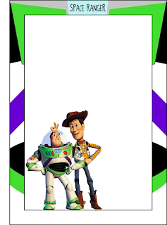Toy Story Free Printable Invitations, Labels or Cards.