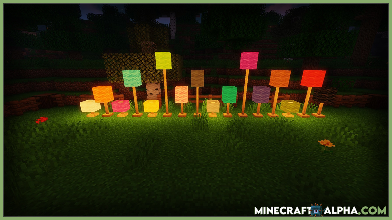 Lights And Lamps Mod 1.17.1