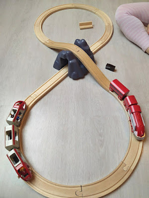 circuit en huit pour train
