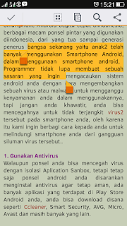 copy paste android