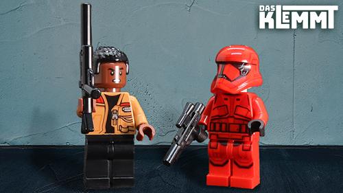 Minifiguren Sith Trooper und Finn - www.dasklemmt.de