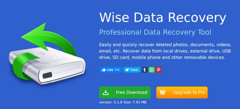 تحميل برنامج Wise Data Recovery