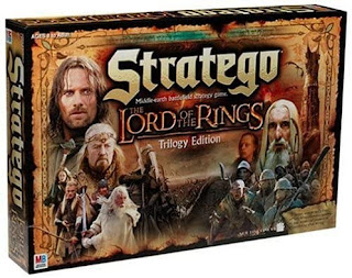 The Lord of The Rings Stratego Game board game