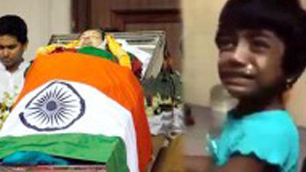ஜெயலலிதா எப்பப்பா சரியாகி வருவாங்க..! கண்களை குளமாக்கும் ஒரு சிறுமியின் கதறல்