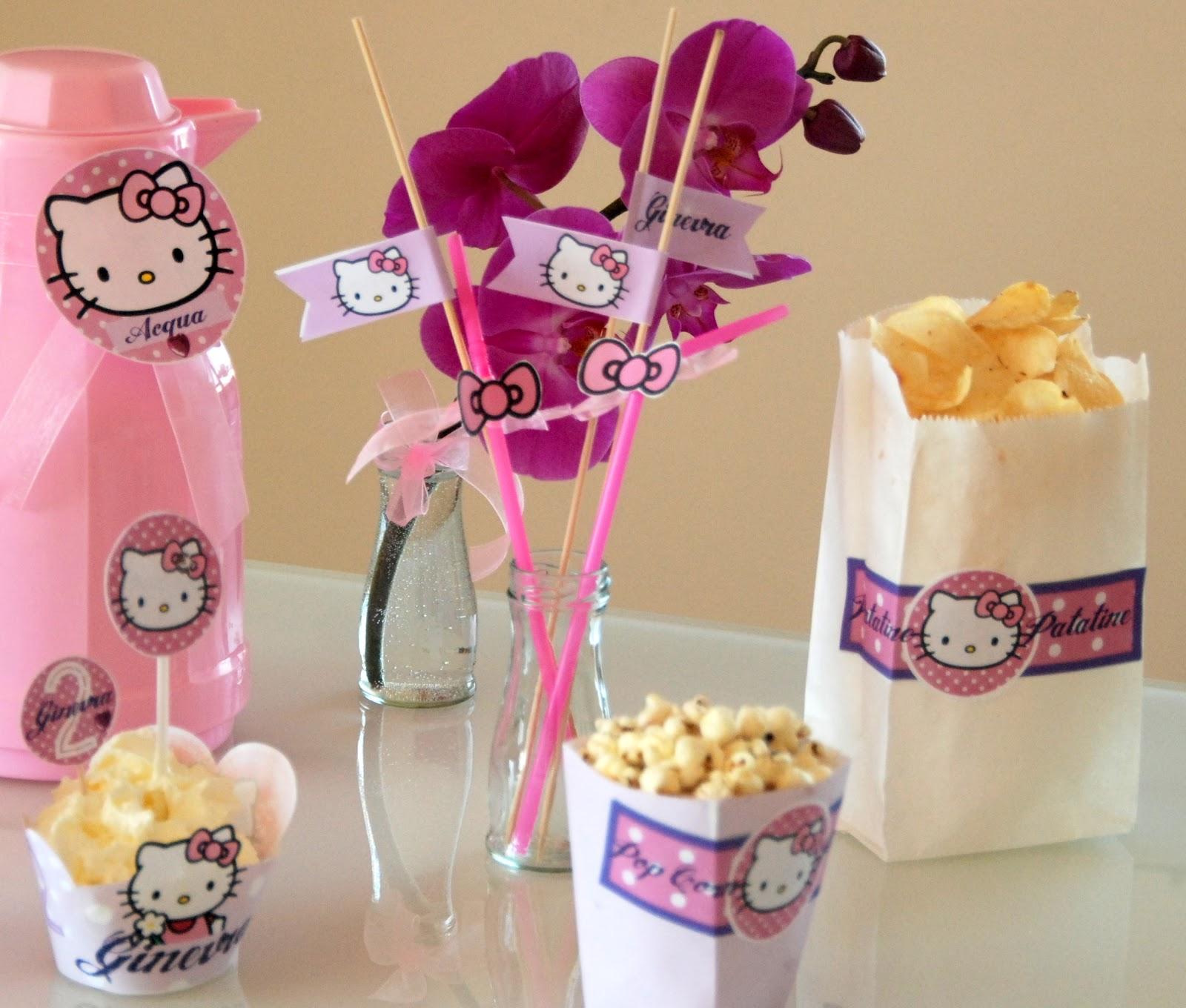puntini puntini& puntine: Festa Hello Kitty