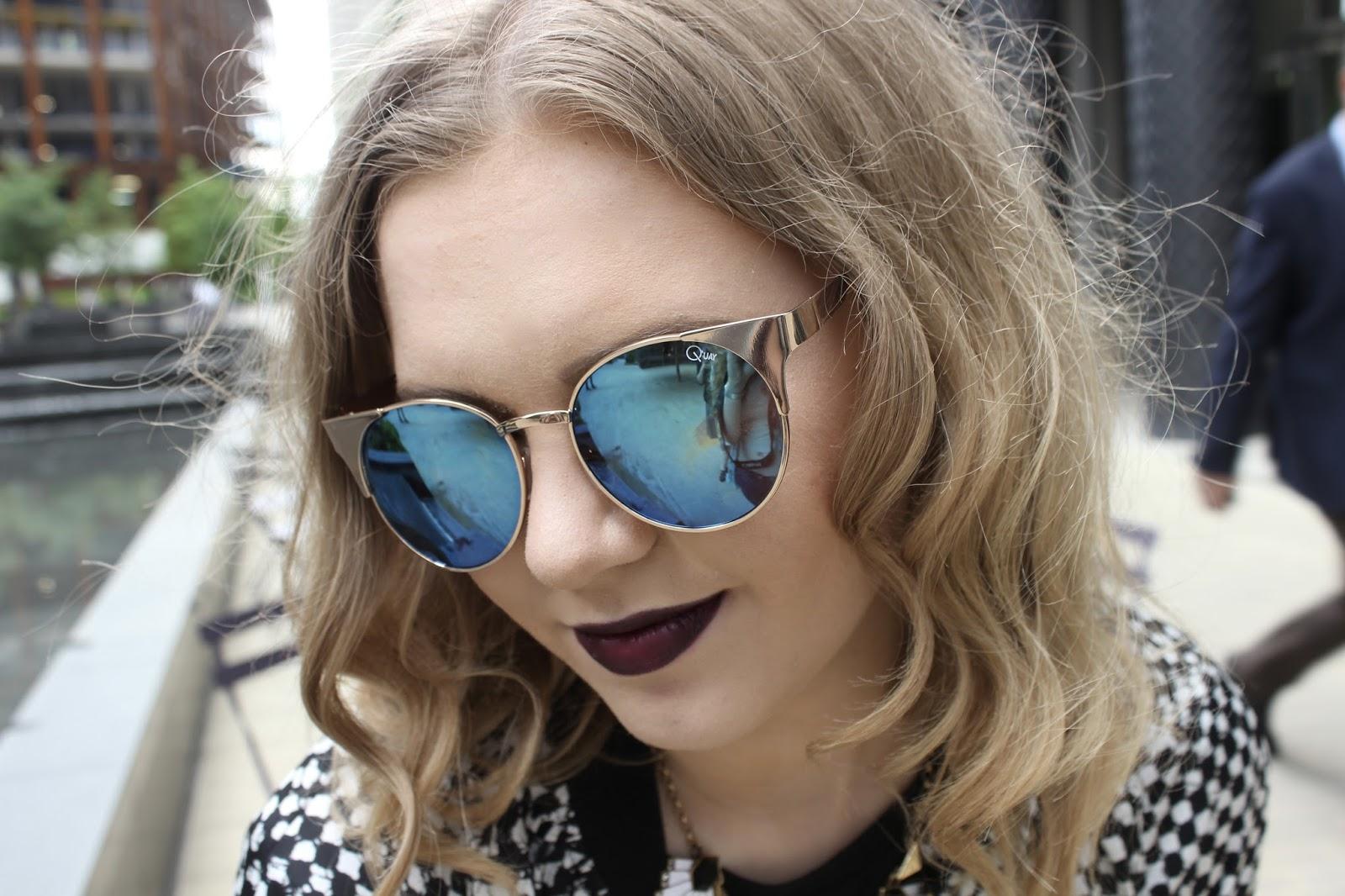 ootd fashion quay sunglasses blogger fashion