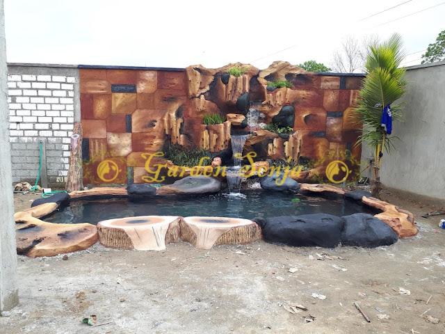 Tukang kolam tebing rembang