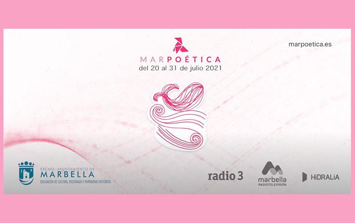 MarPoética 2021, festival de poesía en Marbella