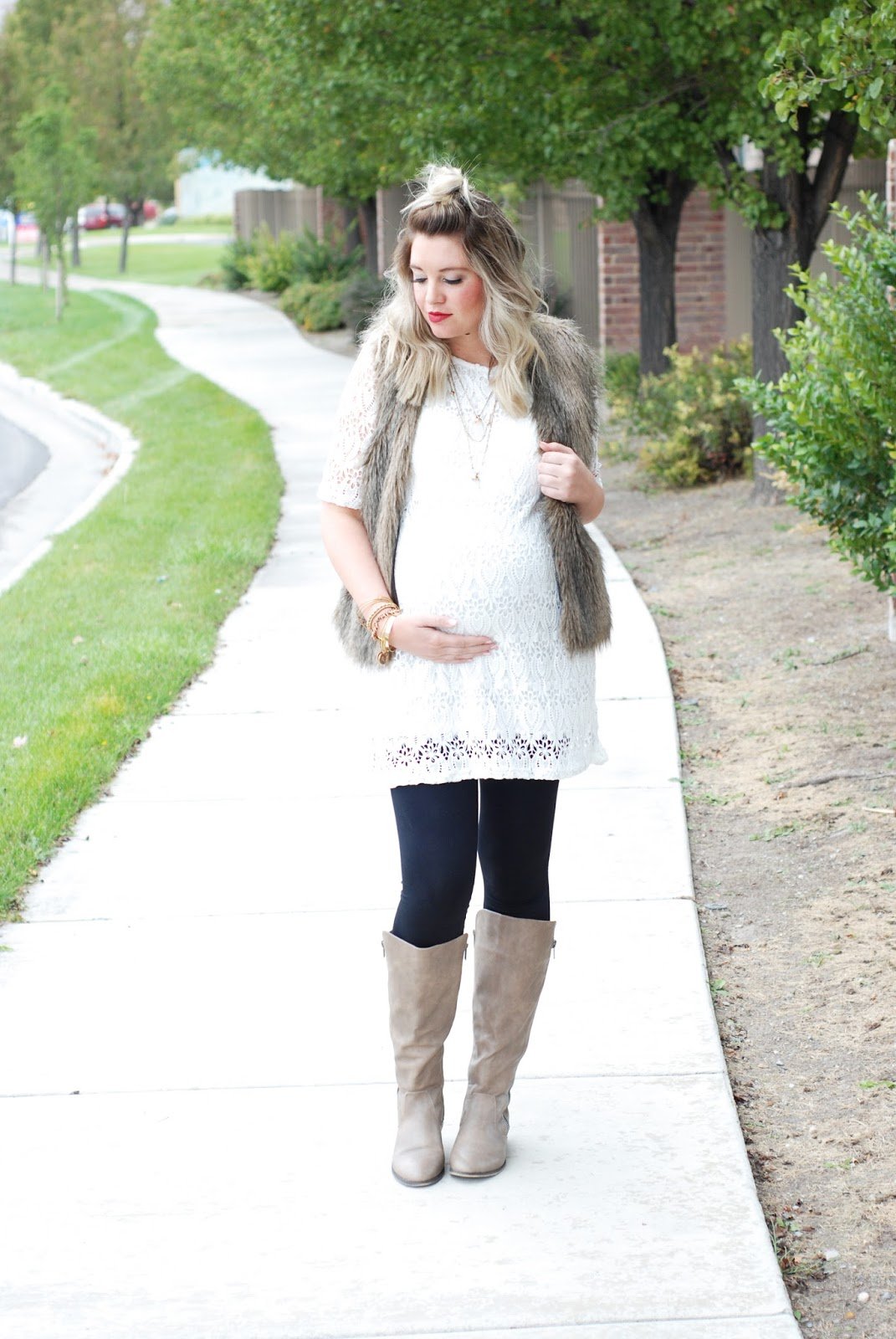 Fall Outfit, Journey Five, H&M, Fur