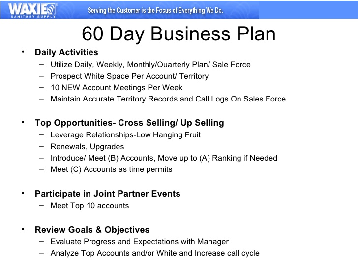 60 days business Action Plan