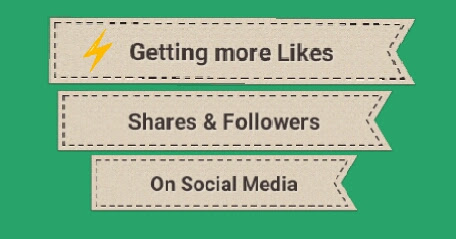 Getting more likes & followers on Social Media