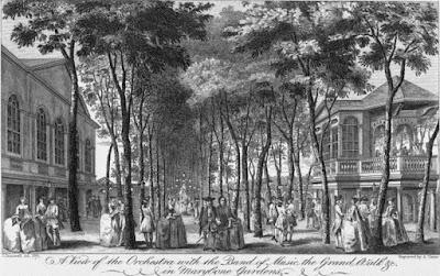 Marylebone Gardens c. 1765 John Donowell