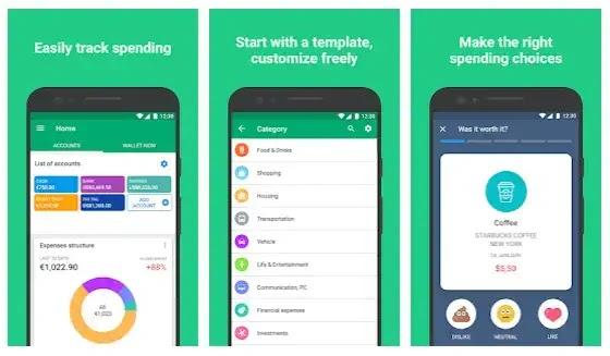 wallet jadi aplikasi keuangan populer yang memiliki rating tinggi